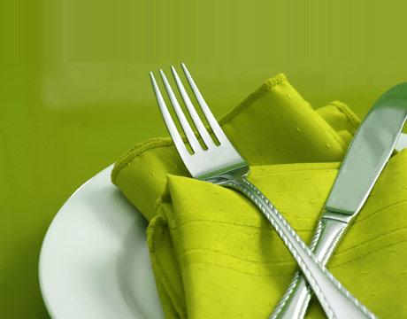 American eating etiquette