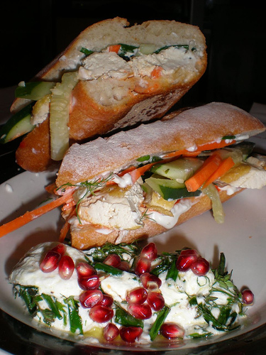 Smoked Salmon And Goat Cheese Sandwiches - Delightful Goat Cheese Starters