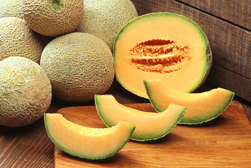 Cantaloupe for Skin