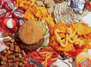 Half of the total kids' calorie intake comes from junk foods