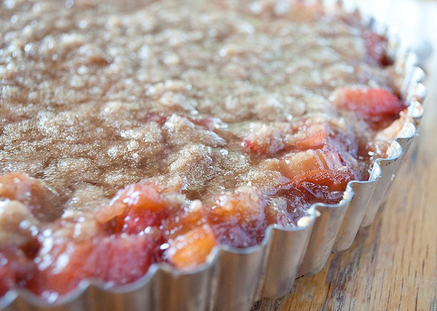 Rhubarb Pie 4