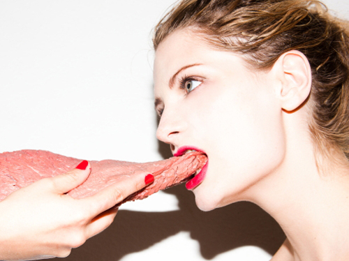 PETA Slams Mischa Barton For Her Raw Meat Photo Shoot!