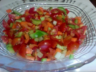how to eat chopped vegetables and get that slice of health