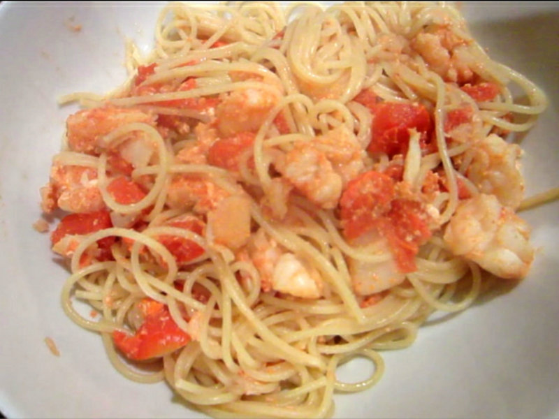 Lobster pasta sauce recipe video by bettys kitchen fare for How to make lobster pasta