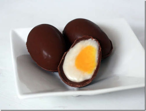 Delicious homemade creme eggs
