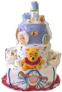 Winnie The Pooh Cake - Yummy Baby Shower Dessert Ideas