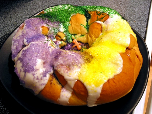 King Cake - Must In Mardi Gras Menu
