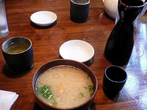 Serving Sake