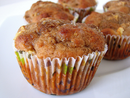 Whole Wheat Apple Cupcakes