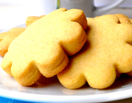 Maize And Vanilla Shortbread Cookies Recipe Video by PositivelyBeauty ...