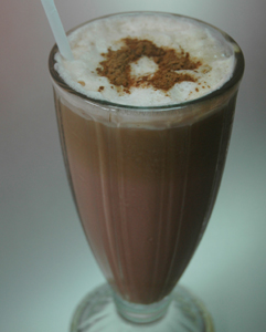 Coffee shake is a great way to have iced coffee