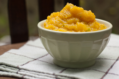 how to puree squash