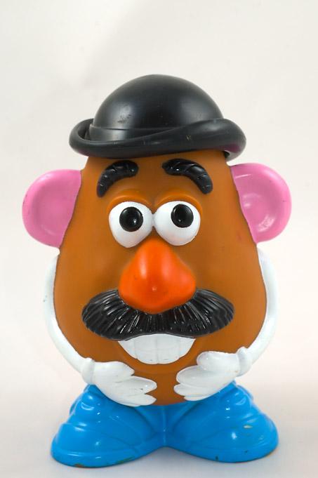Mr potato is healthy