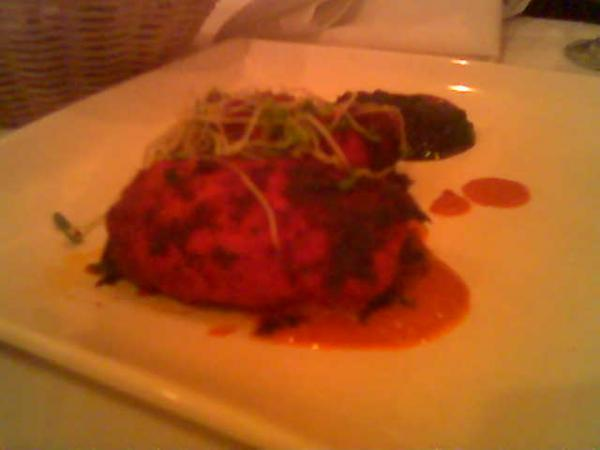 Stuffed Tandoori Chicken