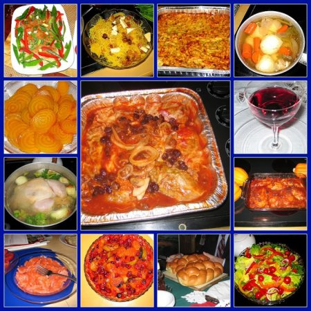 Rosh Hashanah Traditional Foods