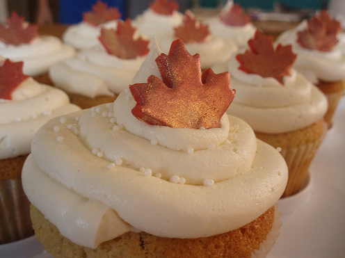 Maple Cupcake Ideas