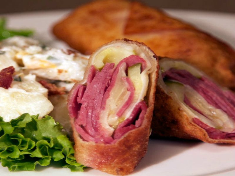 Reuben Egg Rolls Recipe Video By Hypehits
