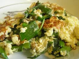 Spinach Egg Scramble