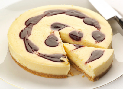 Wedding Shower Menu - Lemon Cheesecake