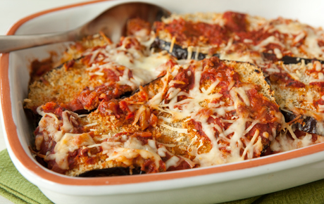 Eggplant parmesan - enjoy the rich taste of eggplant