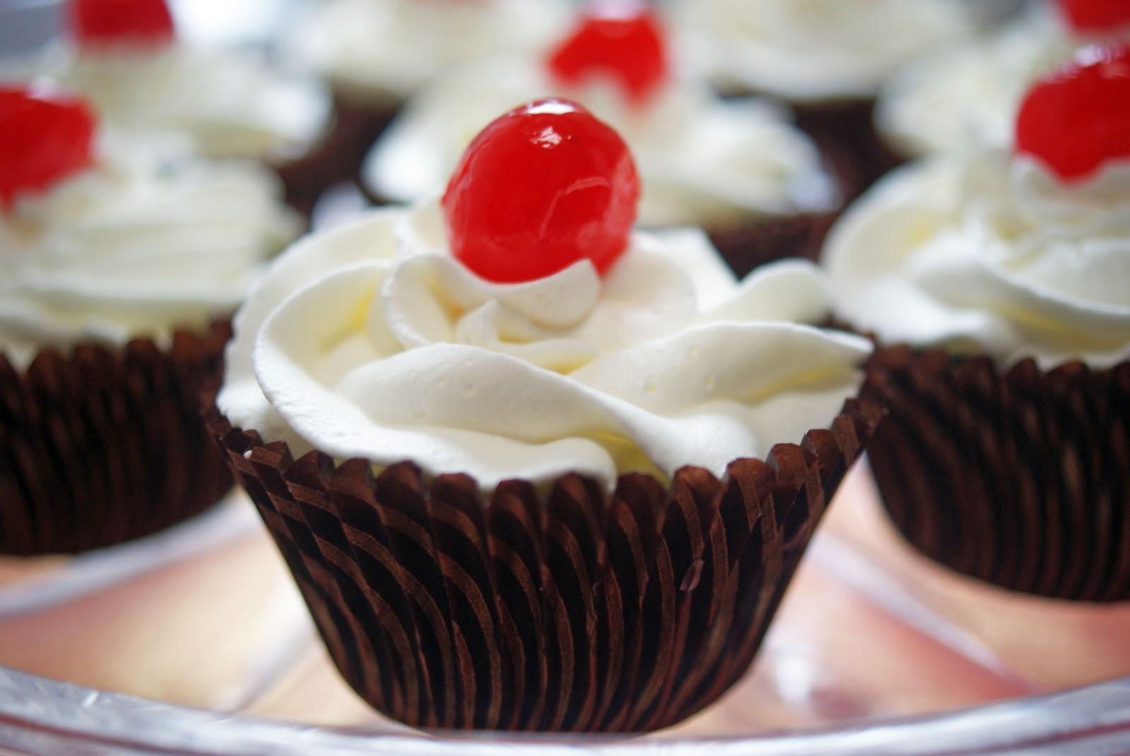 Ice Brandied Cupcakes