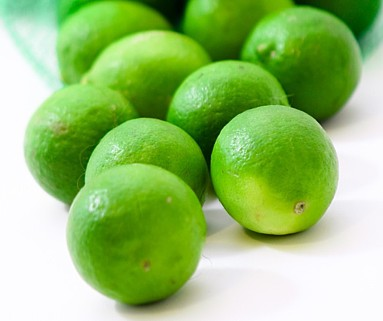 Key limes are commonly known as Mexican Lime or West Indies Lime