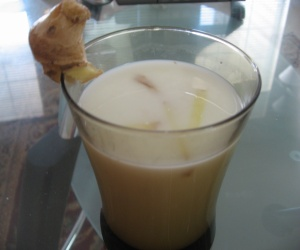 Ginger milk keeps bone healthy