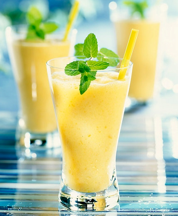 Mango Banana Fruit Drink Recipe By Quick.easy.cooking