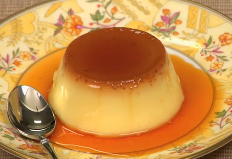 Oriental Custard Pudding Recipe by cookingwithdog | iFood.tv