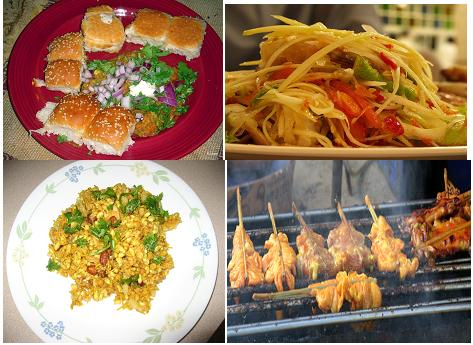 Asian Street Foods