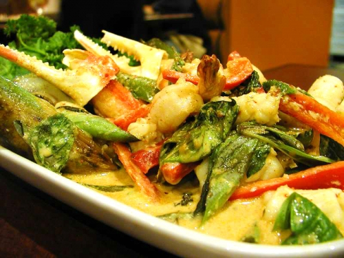 Thai Dinner Menu Plan