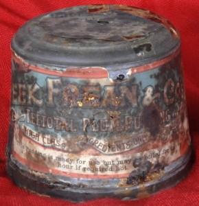 Century old pudding