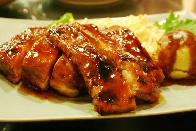 BBQ Pork Spare Ribs - BBQ Pork Starters