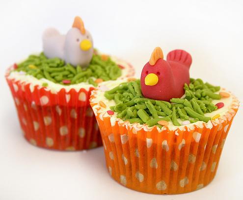Chicken Cupcake Ideas