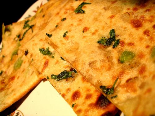 potato stuffed bread - Indian aloo paratha
