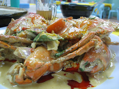 How to serve crabs with Irish butter