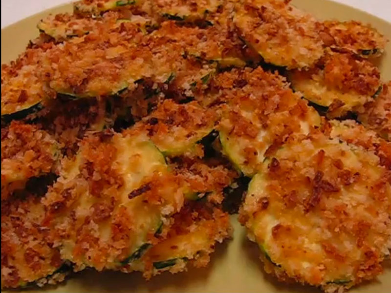 Betty's Baked Zucchini Chips -- Recipe By Michelle Hopkins (Poenut ...