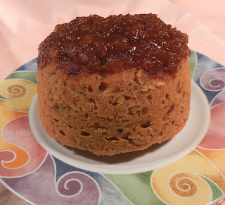 Steamed Apricot Pudding