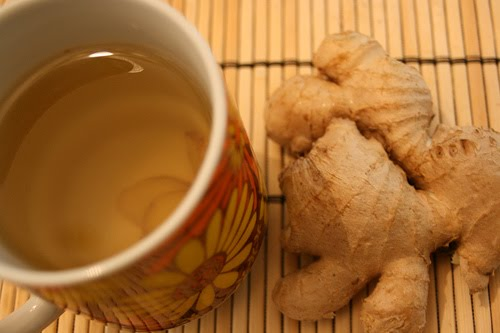 Drinking ginger tea for diabetes