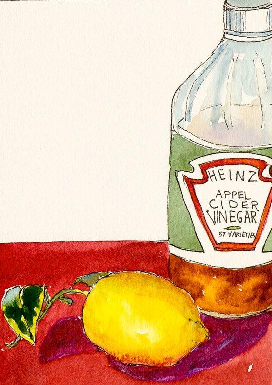 Vinegar and Lemon