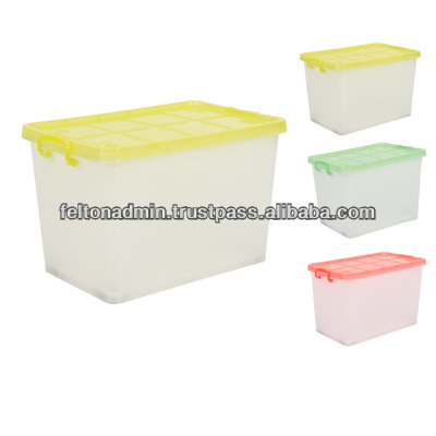Air tight plastic containers for storing plums