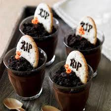 Gravestones — Chocolate Pudding