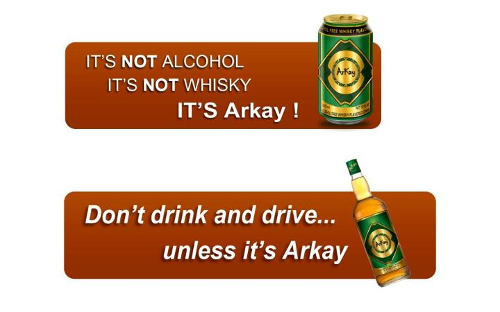 Alcohol-free whisky 1