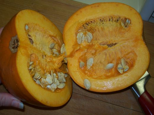 Using baked pumpkins and its seeds in a mouthwatering recipe