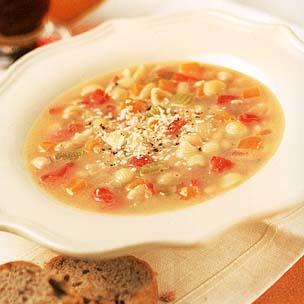 Leftover Macaroni Soup