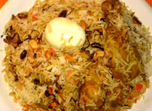 kozhikode chicken biryani recipe video