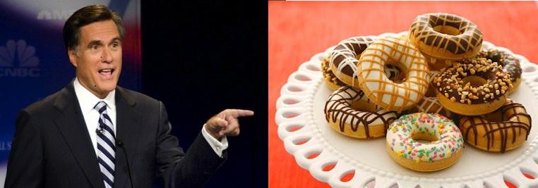 Mitt Romney Donuts