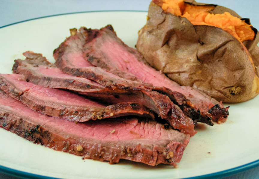 Flank Steak Recipe by Mormon.Cook | iFood.tv