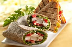 Vegetarian Pita Sandwiches