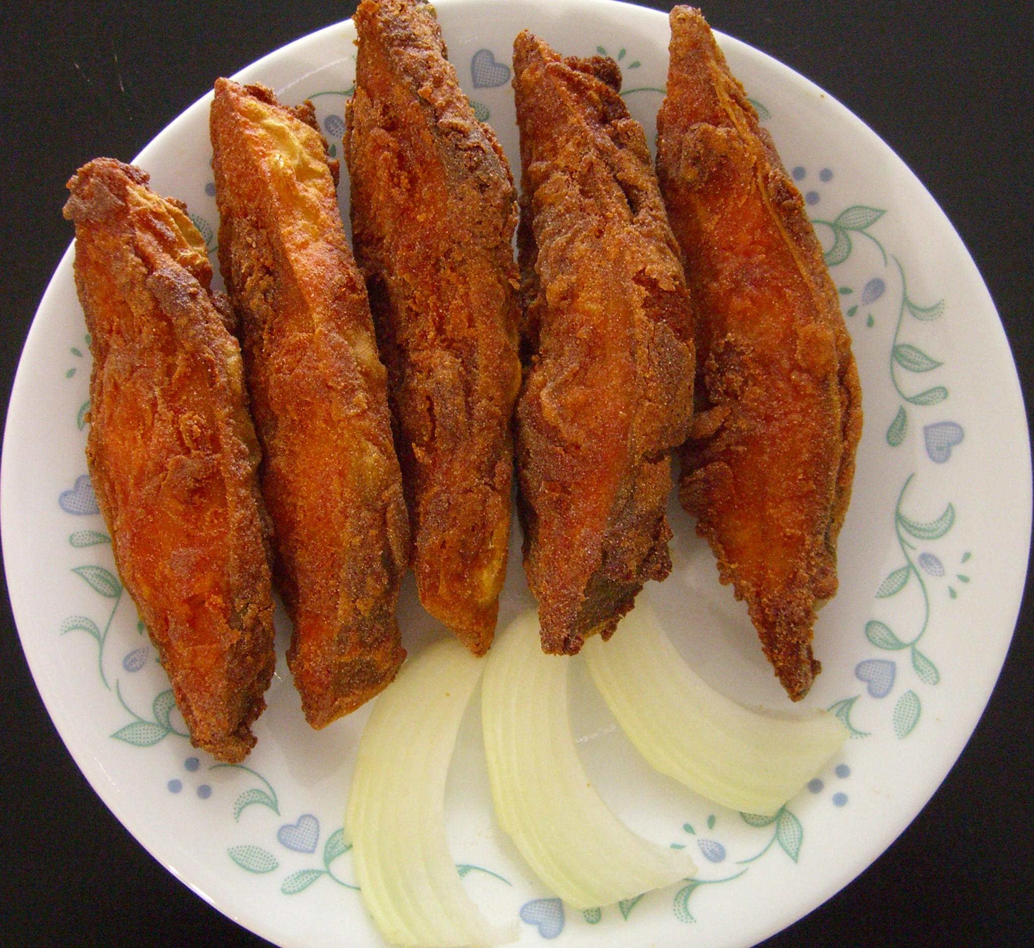 Pomfret fry recipe by sarita bhandarkar for Fried fish recipe